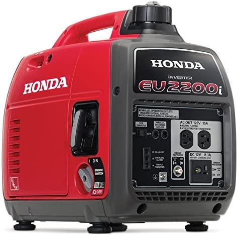 51gT+zm0p6L. AC  - Honda EU2200i 2200-Watt 120-Volt Super Quiet Portable Inverter Generator
