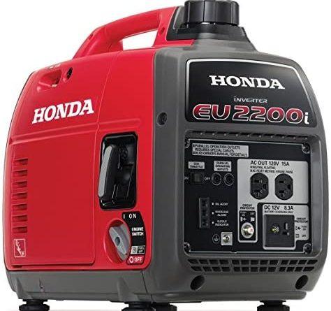 51gTzm0p6L. AC  474x445 - Honda EU2200i 2200-Watt 120-Volt Super Quiet Portable Inverter Generator