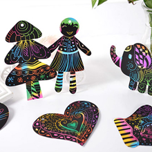 591a366f 0283 4c16 9149 4179e01bbf53.  CR0,0,220,220 PT0 SX220 V1    - ZMLM Scratch Paper Art Set, 50 Piece Rainbow Magic Scratch Paper for Kids Black Scratch it Off Art Crafts Notes Boards Sheet with 5 Wooden Stylus for Easter Party GameChristmas Birthday Gift