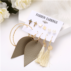 5c478f49 eb28 4bb8 b207 356dbfde7b8a.  CR0,0,300,300 PT0 SX300 V1    - 36 Pairs Fashion Tassel Earrings Set for Women Girls Bohemian Acrylic Hoop Stud Drop Dangle Earring Leather Leaf Earrings for Birthday/Party/Christmas/Friendship Gifts