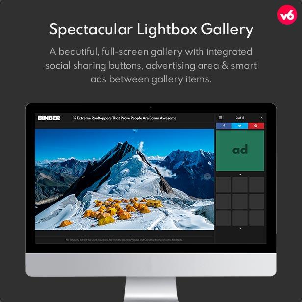 6 lightbox gallery - Bimber - Viral Magazine WordPress Theme