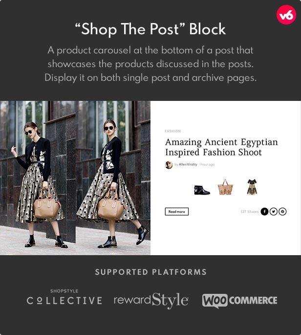6 shop the post - Bimber - Viral Magazine WordPress Theme