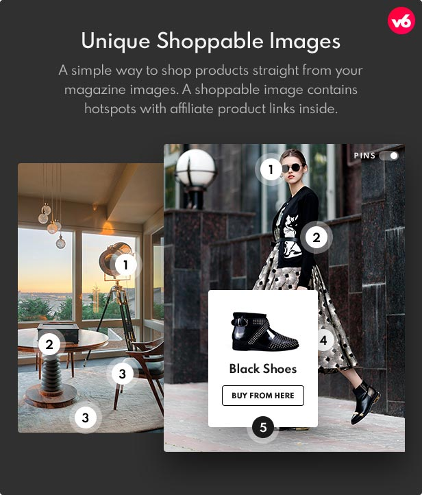 6 shoppable images - Bimber - Viral Magazine WordPress Theme