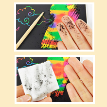 6c172a2b 62e0 4028 9ba2 bdeb3f3d2ff1.  CR0,0,220,220 PT0 SX220 V1    - ZMLM Scratch Paper Art Set, 50 Piece Rainbow Magic Scratch Paper for Kids Black Scratch it Off Art Crafts Notes Boards Sheet with 5 Wooden Stylus for Easter Party GameChristmas Birthday Gift