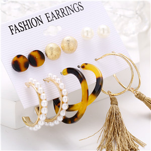 6f1a7d02 5ce3 4724 a55b 5305eb00a5dc.  CR0,0,300,300 PT0 SX300 V1    - 36 Pairs Fashion Tassel Earrings Set for Women Girls Bohemian Acrylic Hoop Stud Drop Dangle Earring Leather Leaf Earrings for Birthday/Party/Christmas/Friendship Gifts