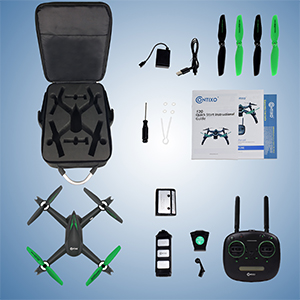 9e3b6750 246c 4d6c a463 d1d710b5743c.  CR0,0,300,300 PT0 SX300 V1    - Contixo F20 GPS RC Quadcopter Photography Drone with Camera for Adults - 5GHz WiFi 1080P FHD Gimbal Camera - 20 Minutes Flight Time - 4 Brushless Motors with 90° Adjustable Camera for Advanced Selfie