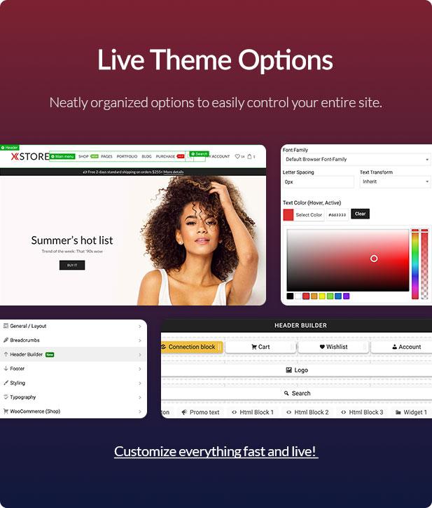 Admin - XStore | Responsive Multi-Purpose WooCommerce WordPress Theme