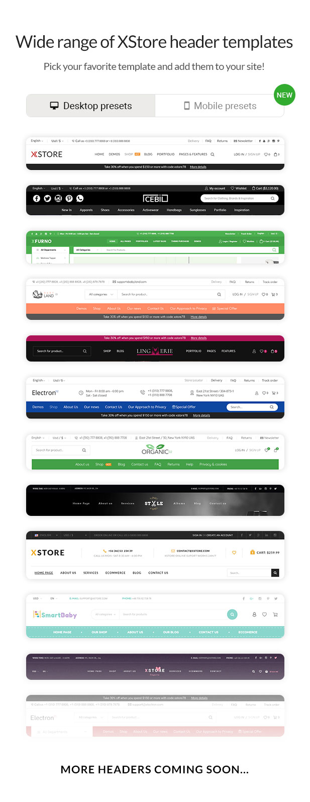 Header builder 2 - XStore | Responsive Multi-Purpose WooCommerce WordPress Theme