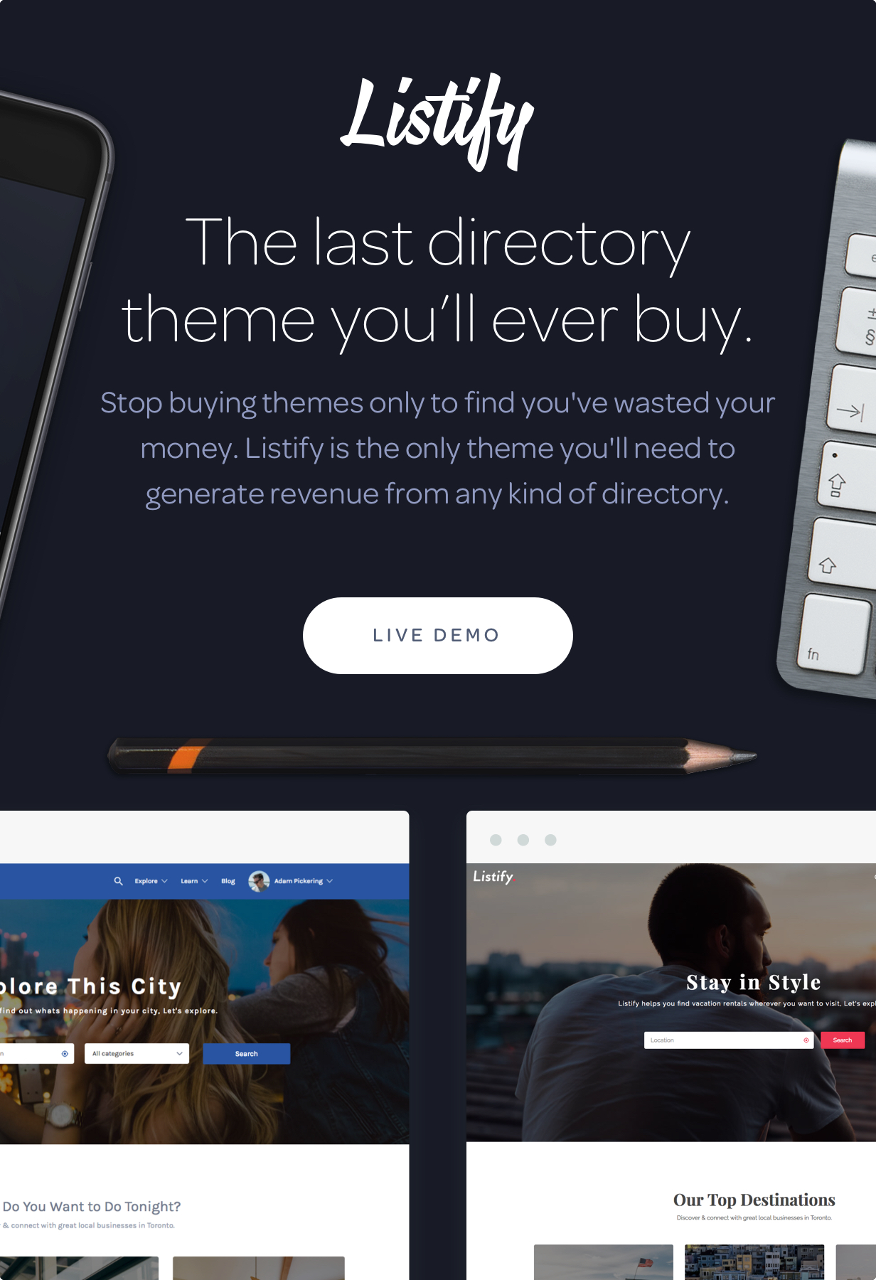 Intro - Listify - Directory WordPress Theme