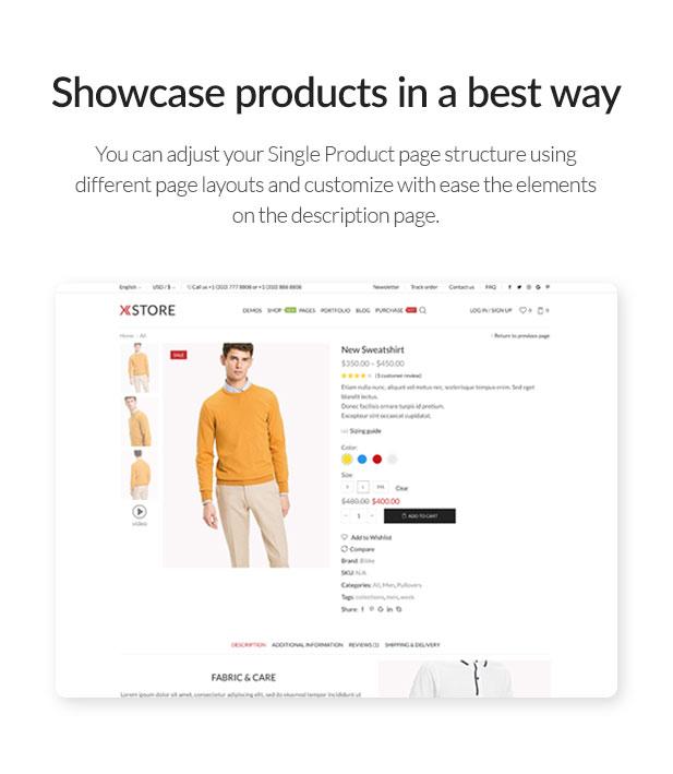 Product - XStore | Responsive Multi-Purpose WooCommerce WordPress Theme