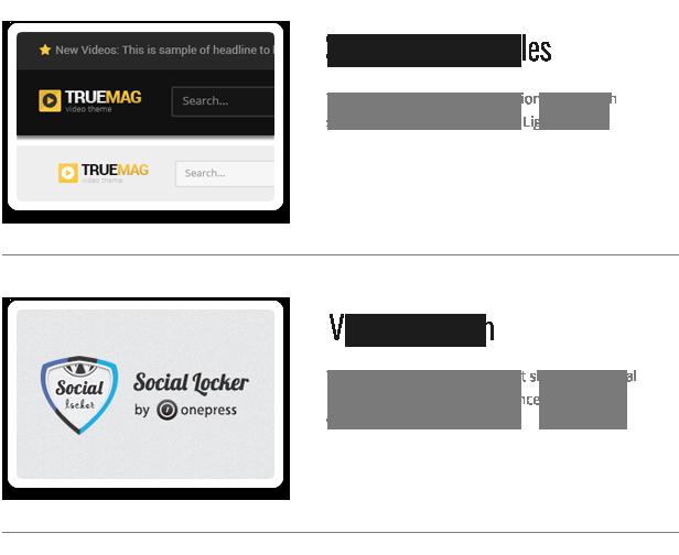 TF TM 021 - True Mag - WordPress Theme for Video and Magazine