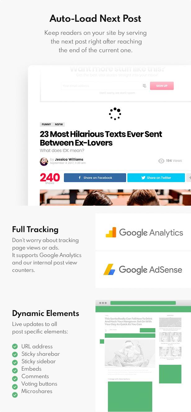 auto load next post - Bimber - Viral Magazine WordPress Theme