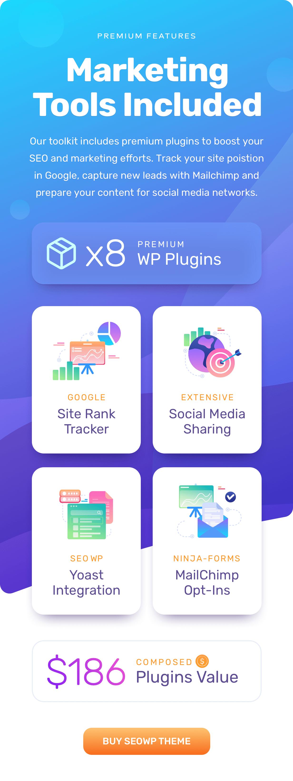 b plugins - SEOWP | SEO & Digital Marketing WordPress Theme