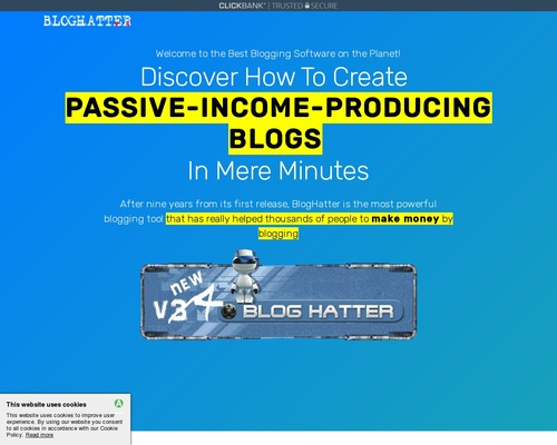bloghatter x400 thumb - BlogHatter v4 - Automate your blogging process