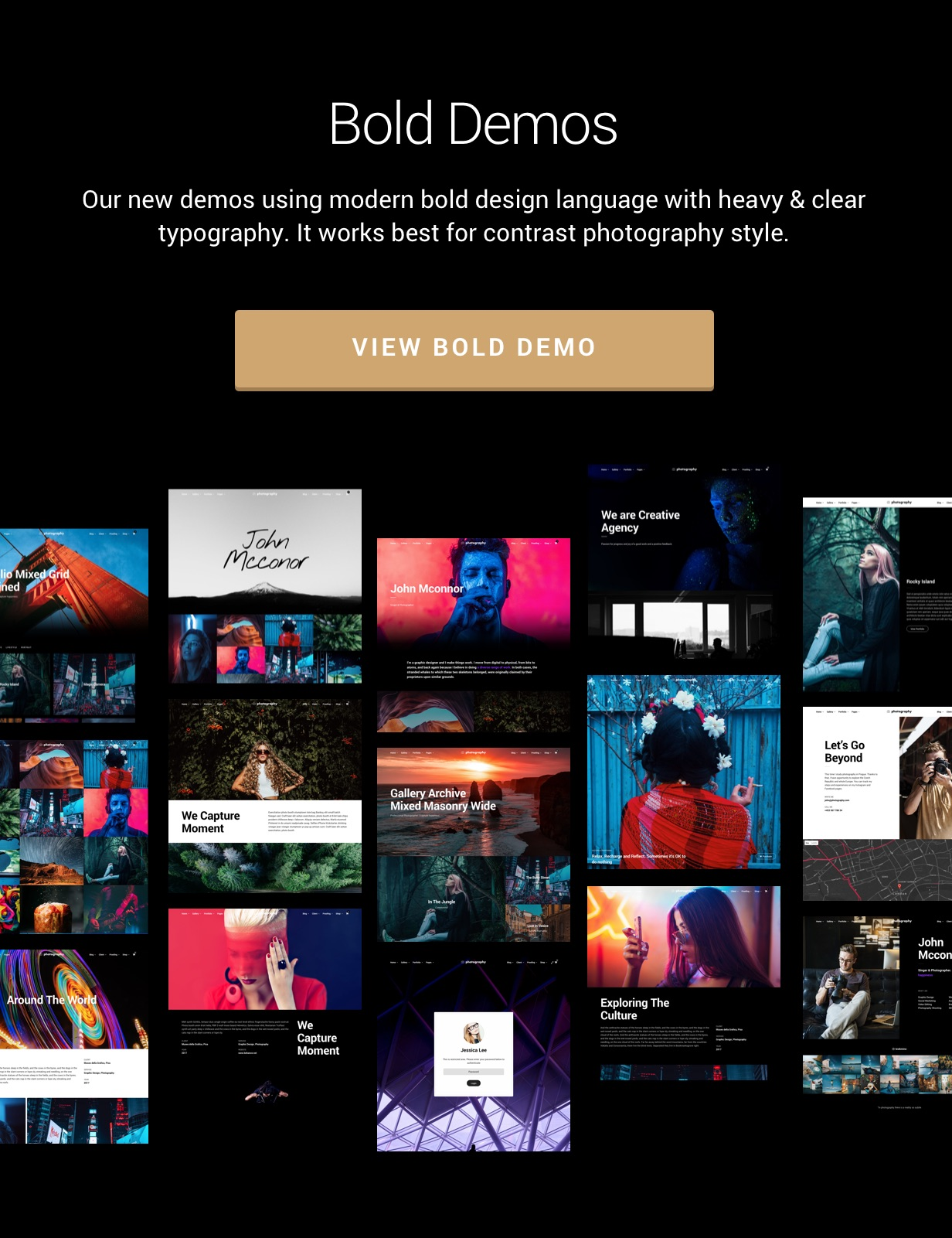 bold demos2 - Photography WordPress