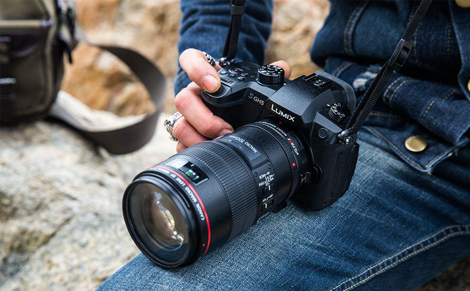 c95fa58e 9799 4d25 a4a0 351d57ec99a4. CR0,0,970,600 PT0 SX970   - VILTROX EF-M2II Focal Reducer Booster Adapter Auto-Focus 0.71x for Canon EF Mount Series Lens to M43 Camera GH4 GH5 GF6 GF1 GX1 GX7 E-M5 E-M10 E-M10II E-PL5