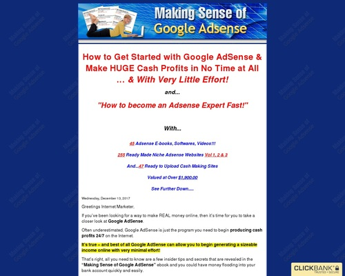 ckbks x400 thumb - Making Sense of Google Adsense - Become an Adsense Expert