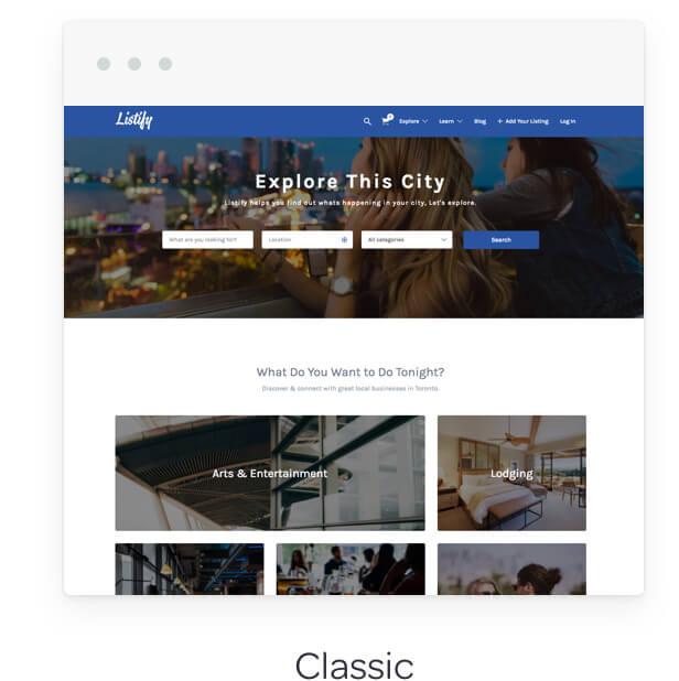 classic demo image - Listify - Directory WordPress Theme