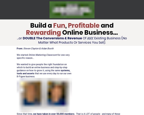 comblue x400 thumb - Online Marketing Classroom - Up To $748/sale!