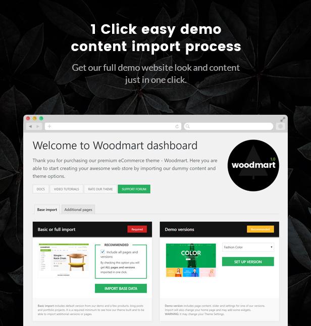 demo content - WoodMart - Responsive WooCommerce WordPress Theme