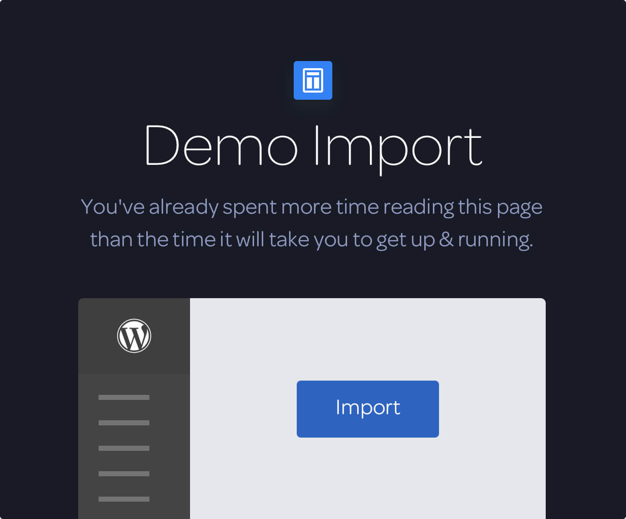 demo import - Jobify - Job Board WordPress Theme