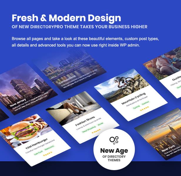 directory design - DirectoryPRO - WordPress Directory Theme