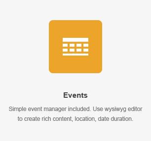 elm events - DirectoryPRO - WordPress Directory Theme