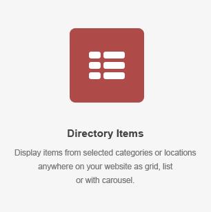 elm items - DirectoryPRO - WordPress Directory Theme