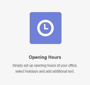 elm opening hours - DirectoryPRO - WordPress Directory Theme