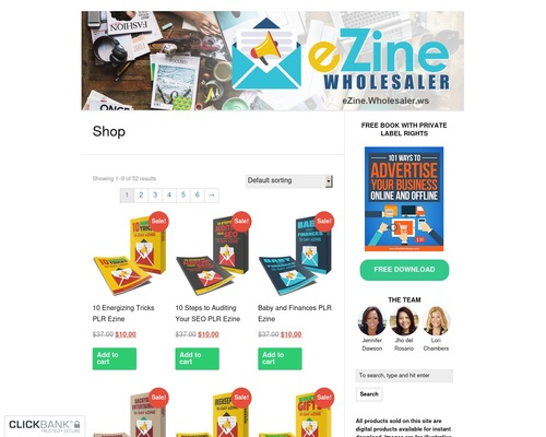 ezinews x400 thumb - Ezine Wholesaler — eZines, eCourses, and eMail Content with Private Label Rights