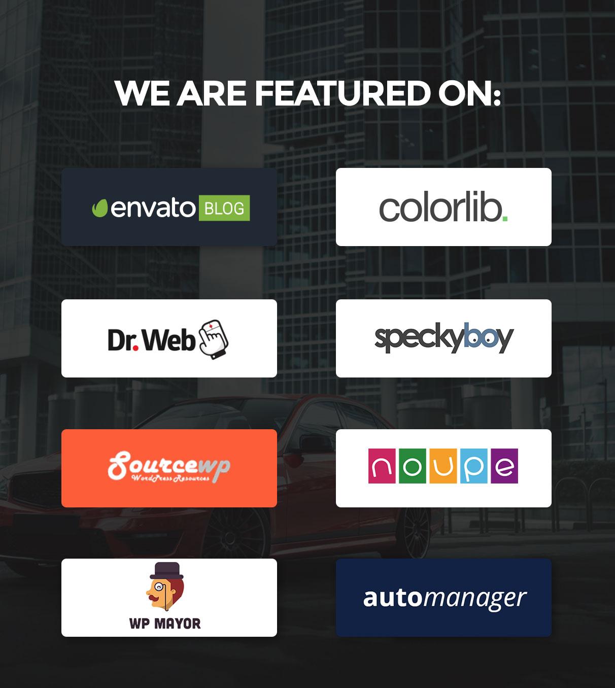 featured - Motors - Car Dealer, Rental & Classifieds WordPress theme