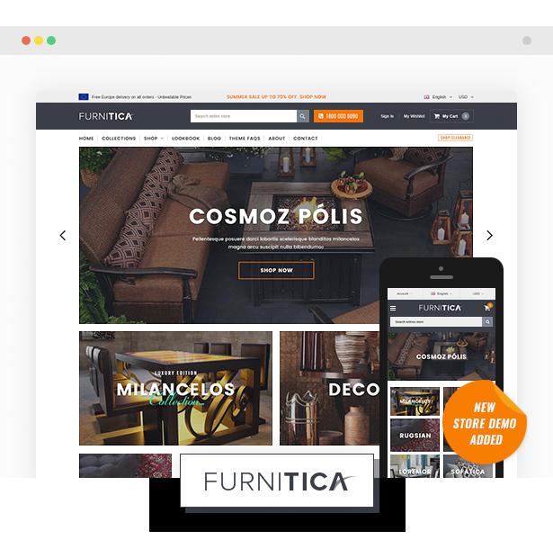 furnitica shopify sections theme - Ella - Multipurpose Shopify Sections Theme