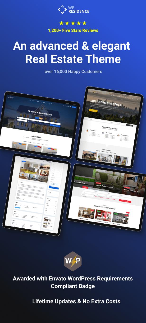 header main 1 - Residence Real Estate WordPress Theme