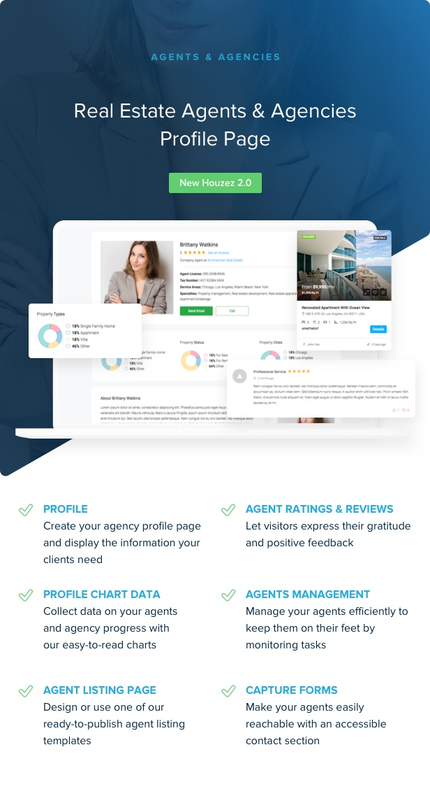 houzez 2 0 agent - Houzez - Real Estate WordPress Theme