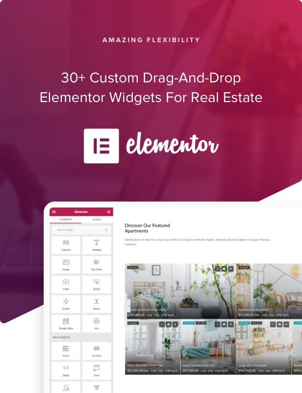 houzez 2 0 elementor - Houzez - Real Estate WordPress Theme