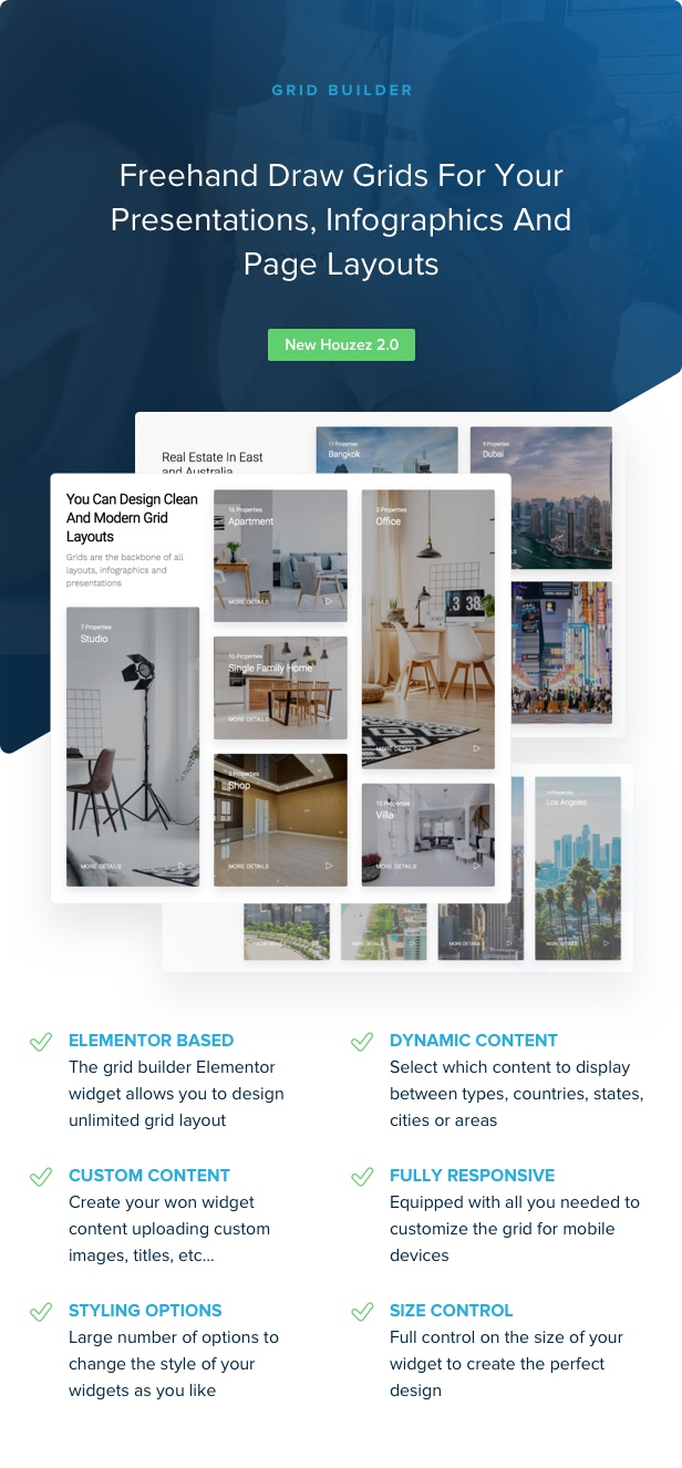 houzez 2 0 grid builder - Houzez - Real Estate WordPress Theme