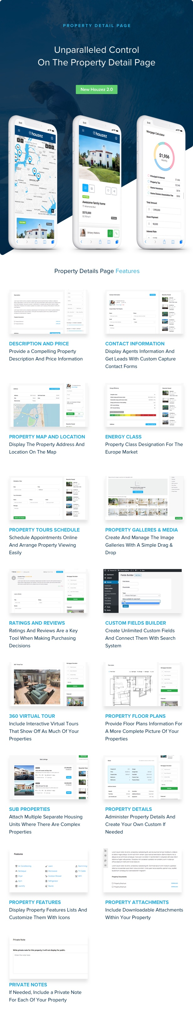 houzez 2 0 property detail page - Houzez - Real Estate WordPress Theme