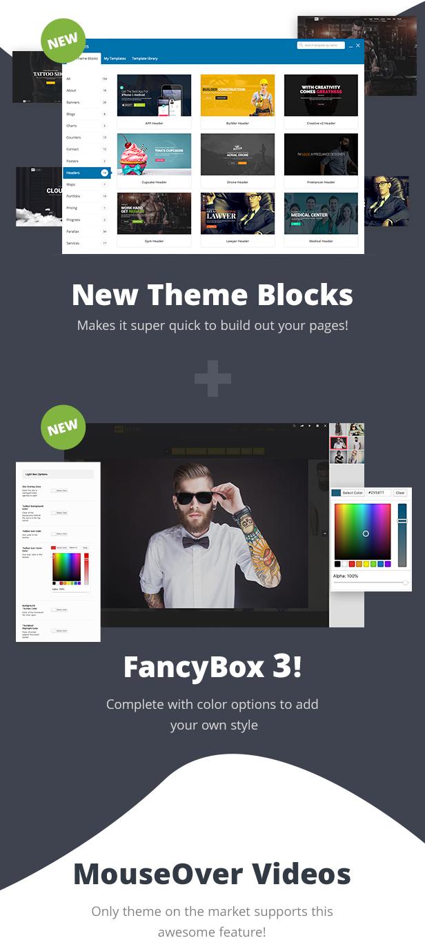 item new 4.3 - 907 - Responsive Multi-Purpose WordPress Theme
