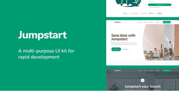 item preview image normal.  large preview - Jumpstart App and Software Template
