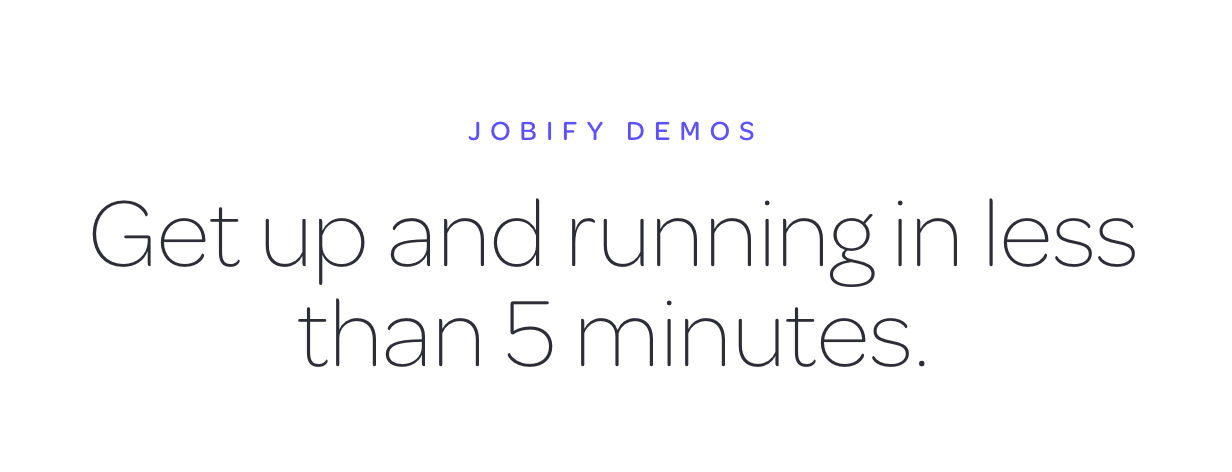 jobfyi demos text - Jobify - Job Board WordPress Theme