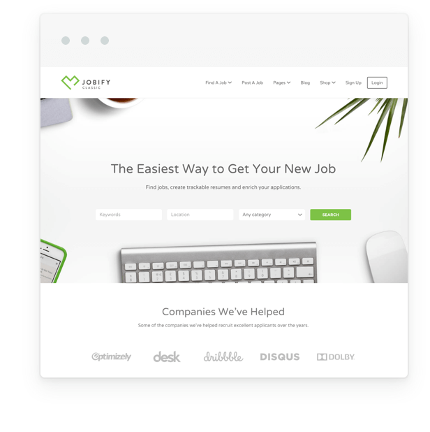 jobify classic demo fixed - Jobify - Job Board WordPress Theme