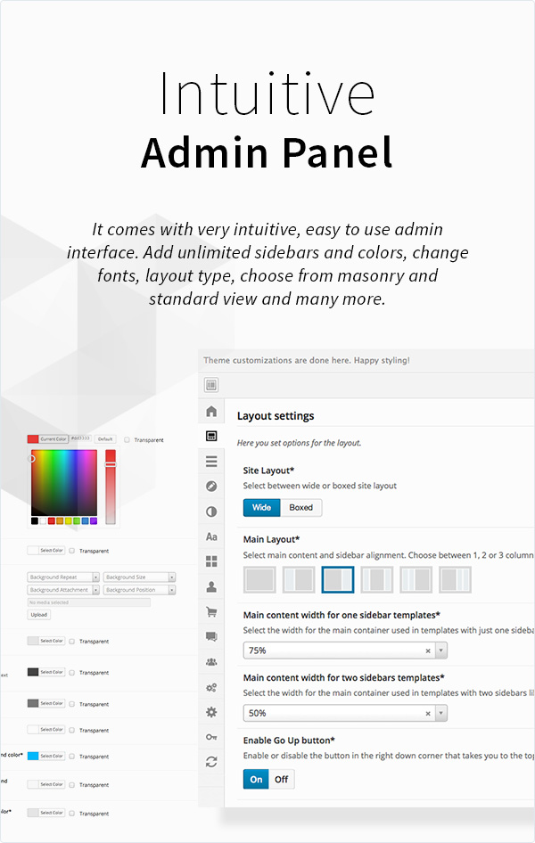 kleo features page powerfull admin - KLEO - Pro Community Focused, Multi-Purpose BuddyPress Theme