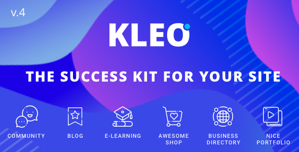 kleo preview.  large preview - KLEO - Pro Community Focused, Multi-Purpose BuddyPress Theme