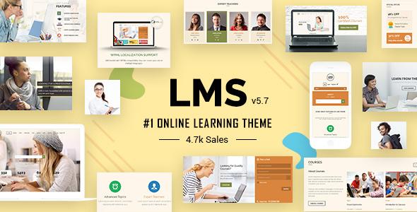 lms.  large preview - LMS WordPress Theme