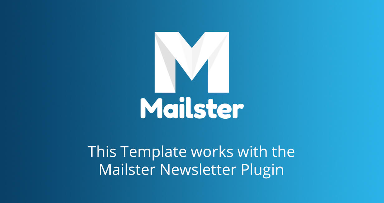 mailster support - Market - Email Template for Mailster