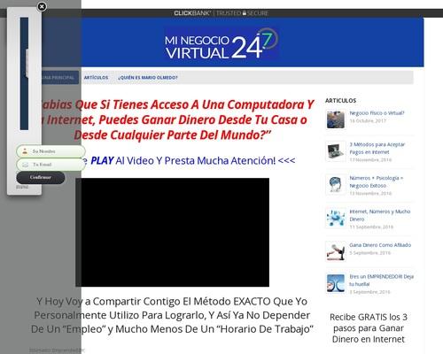 mariosila x400 thumb - Entrenamiento Gratuito - Tu Propio Negocio Online (AF) - Imperio Invisible