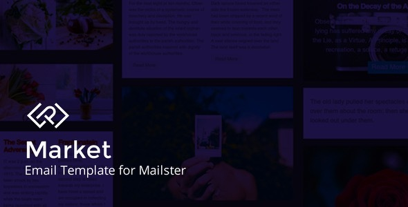 market.  large preview - Market - Email Template for Mailster