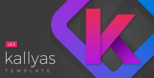 new cover.  large preview - KALLYAS - Gigantic Premium Multi-Purpose HTML5 Template + Page Builder
