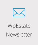 newsletter - Residence Real Estate WordPress Theme