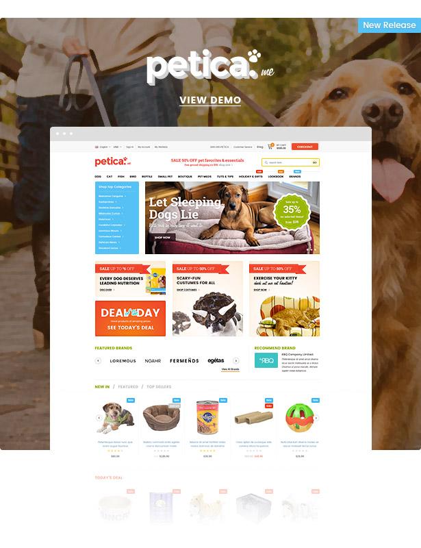 petica premium responsive pet shop shopify theme - Ella - Multipurpose Shopify Sections Theme